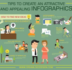Tips to create an attractive and appealing infographics