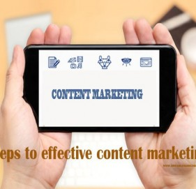 Steps to effective content marketing