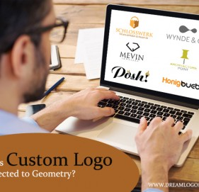 How is Custom Logo Connected to Geometry?
