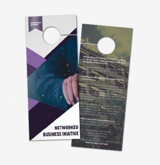 Door Hanger Graphic Design door hanger design - dream logo design