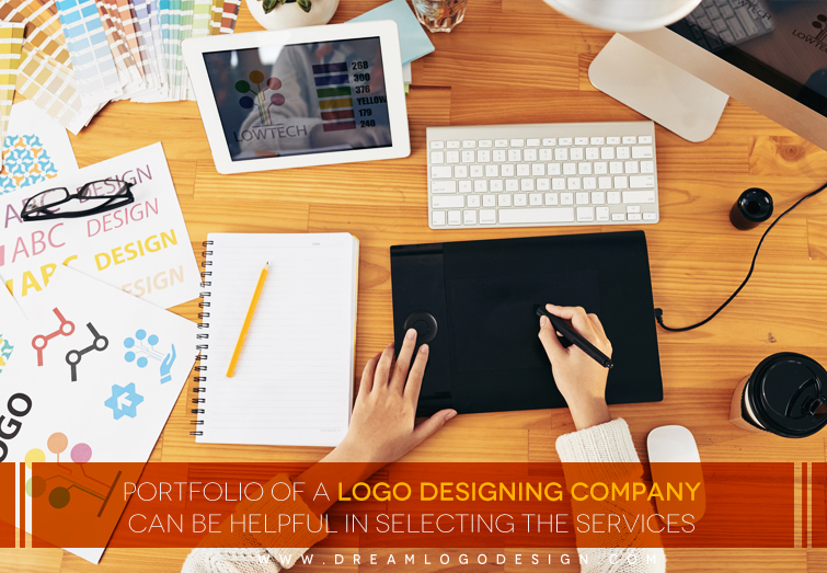 Portfolio of a Logo Designing Company can be Helpful in selecting the Services