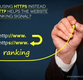 How using HTTPS instead of HTTP helps the website in Ranking Signal?