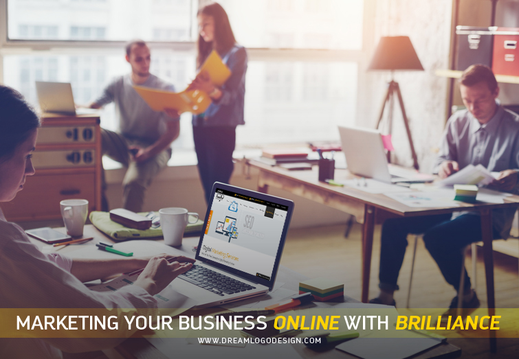 Marketing your business online with Brilliance