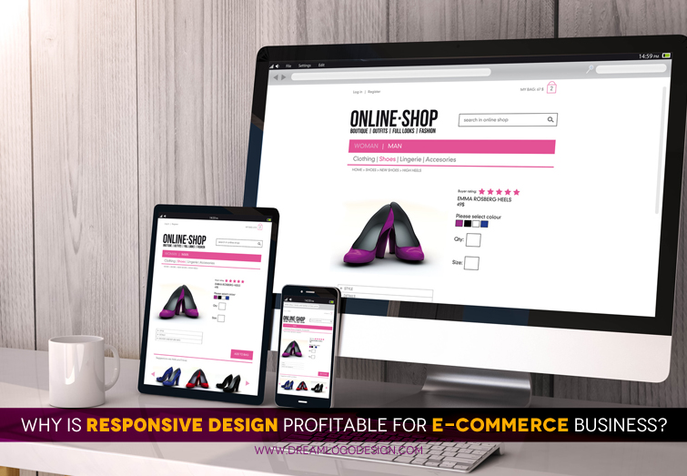 Why is responsive design profitable for e commerce business?