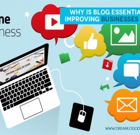 Why is blog essential for improving online businesses ?