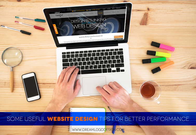 Some useful website design tips for better performance