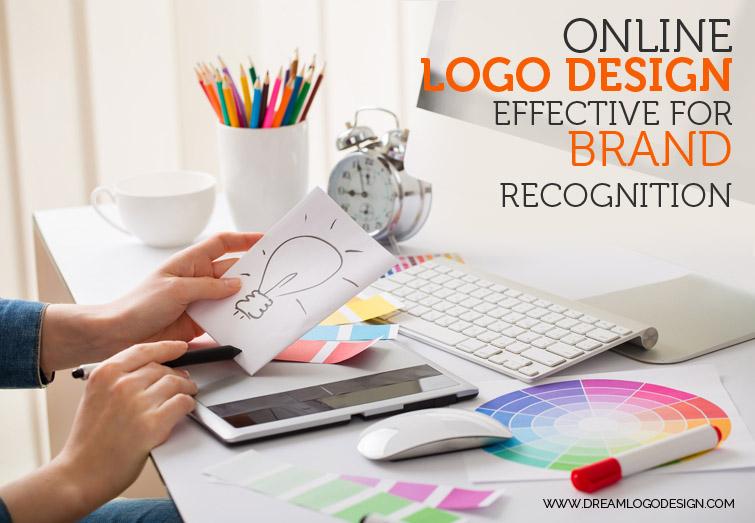 Online logo design effective for brand recognition