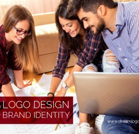 Custom logo design for your brand identity
