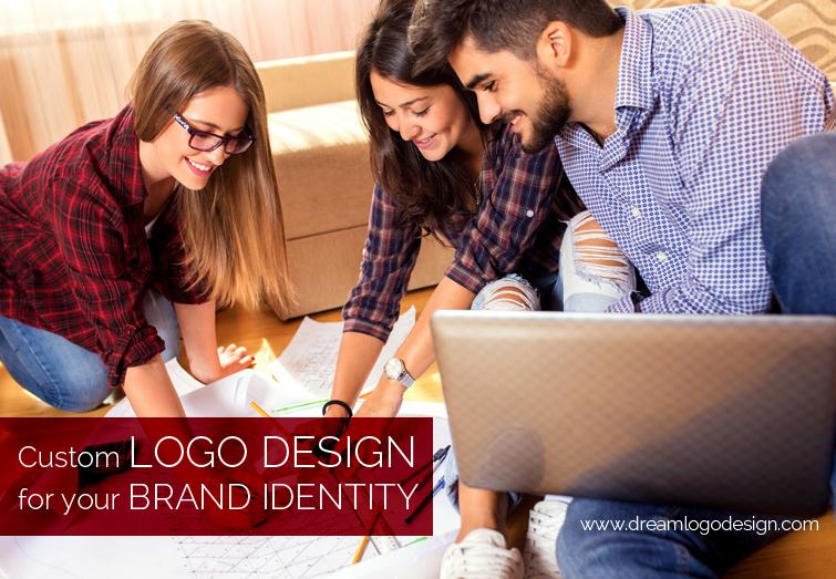 Custom logo design for your brand identity