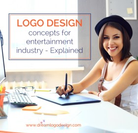 Logo design concepts for entertainment industry - Explained