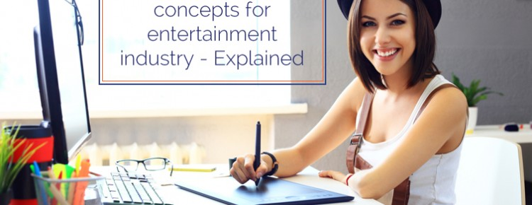 Concepts For Entertainment Industry Logo Design