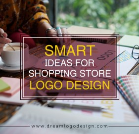 Smart ideas for shopping store logo design