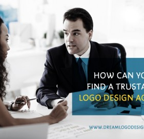 How can you find a trustable logo design agency?