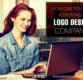 How can you find a trustable logo design company?