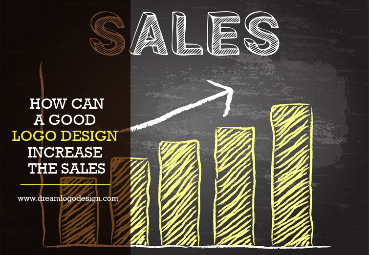 How can a good logo design increase the sales?