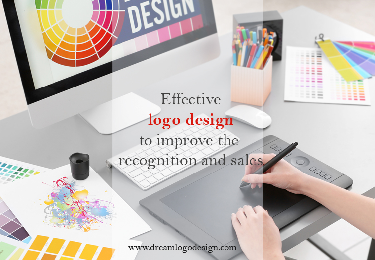 Effective logo design to improve the recognition and sales