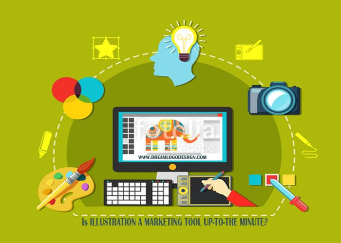 Is illustration a marketing tool up-to-the-minute?