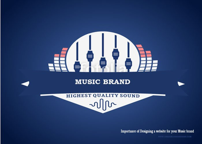 Importance of Designing a website for your Music brand