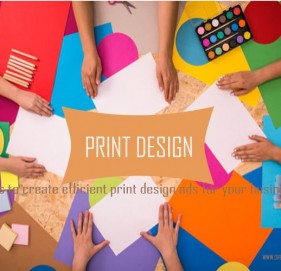 Steps to create efficient print design ads for your business