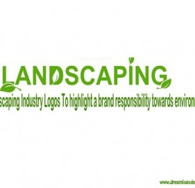 Landscaping Industry Logos To highlight a brand responsibility towards environment