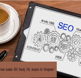 What's the most suitable SEO friendly URL structure for Wordpress?