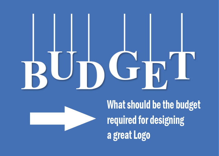 What should be the budget required for designing a great Logo