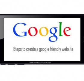 Steps to create a google friendly website