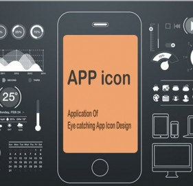 Application Of  Eye catching App Icon Design