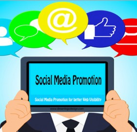Social Media Promotion for better Web Visibility