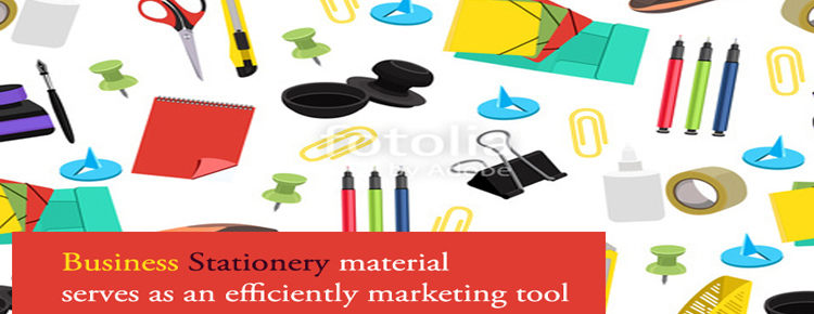Business Stationery material serves as an efficiently marketing tool