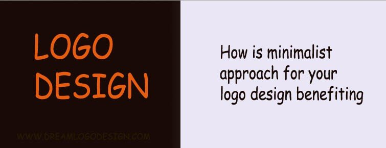 How is minimalist approach for your logo design benefiting