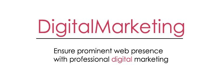 Ensure prominent web presence with professional digital marketing