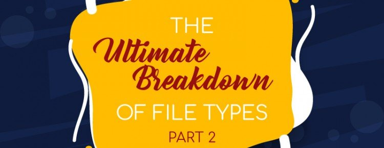 The Ultimate Breakdown of File Types 2