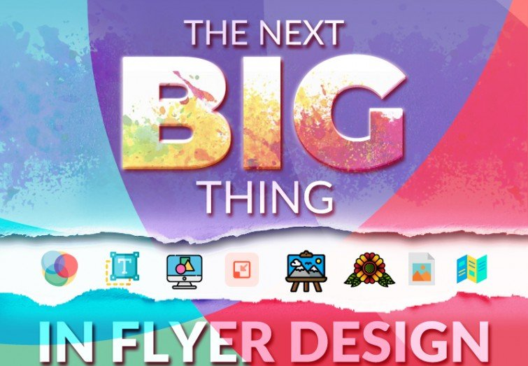 The Next Big Thing in Flyer Design