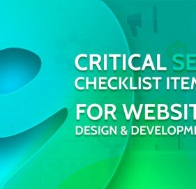 10 Critical SEO Checklist Items for Website Design & Development