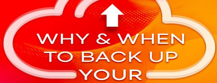 Why & When To Back up Your Website?