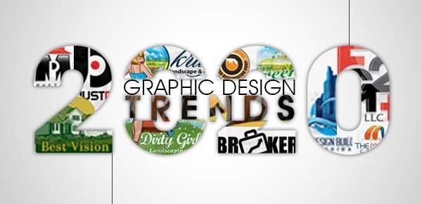 The top 5 Logo Designing Trends to stand out in 2020