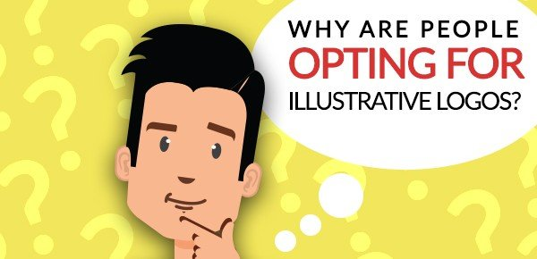 why People are opting for Illustrative logos