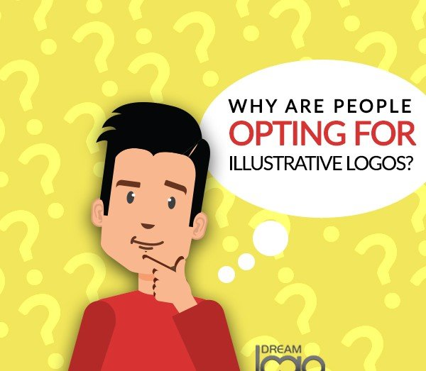 Find out why People are opting for Illustrative logos?
