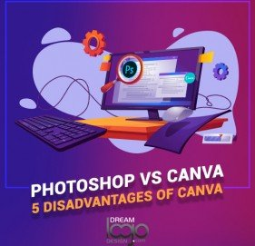 Photoshop vs Canva : 5 disadvantages of Canva