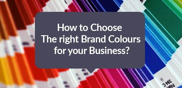 How to choose the right brand colors for your business