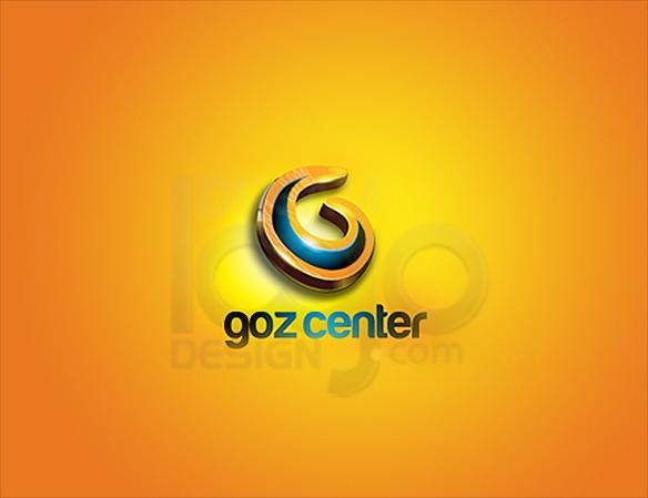 Goz Center 3D Logo Design - DreamLogoDesign