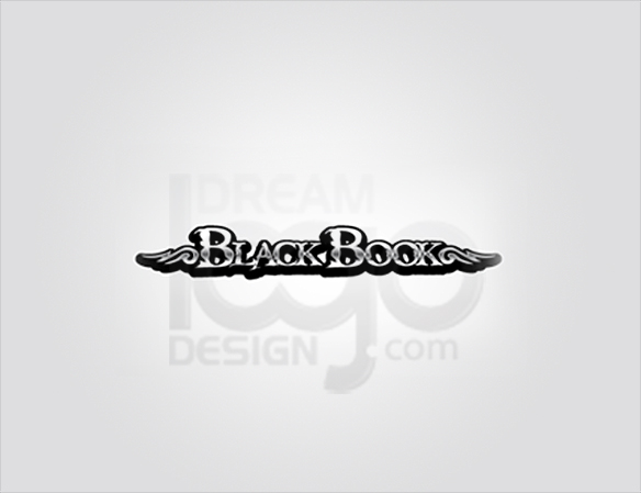 BlackBook 3D Logo Design - DreamLogoDesign