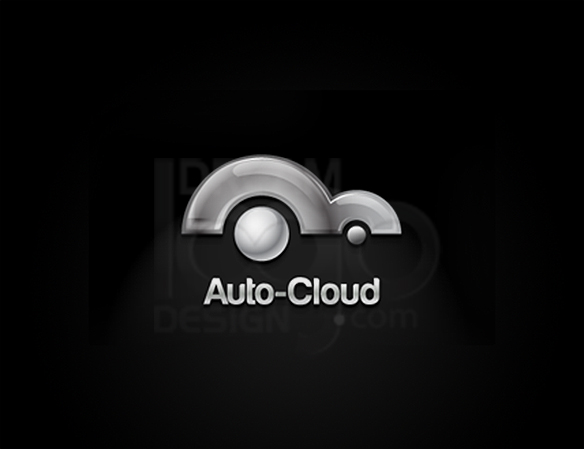 Auto Cloud 3D Logo Design - DreamLogoDesign