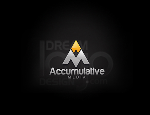 Accumulative Media 3D Logo Design - DreamLogoDesign