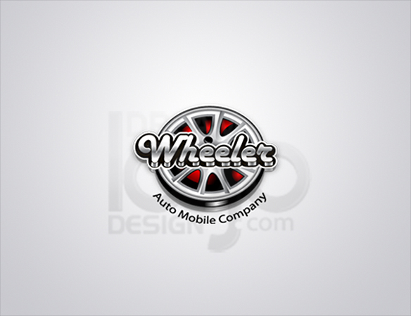 Wheeler 3D Logo Design - DreamLogoDesign