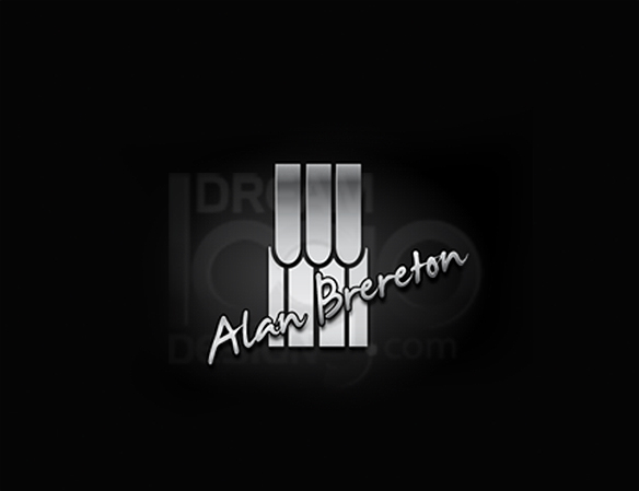 Alan Brereton 3D Logo Design - DreamLogoDesign