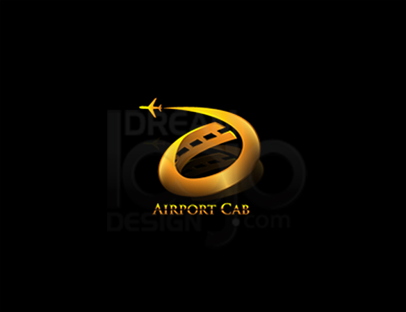 Airport Cab 3D Logo Design - DreamLogoDesign