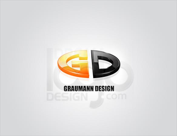 GD 3D Logo Design - DreamLogoDesign