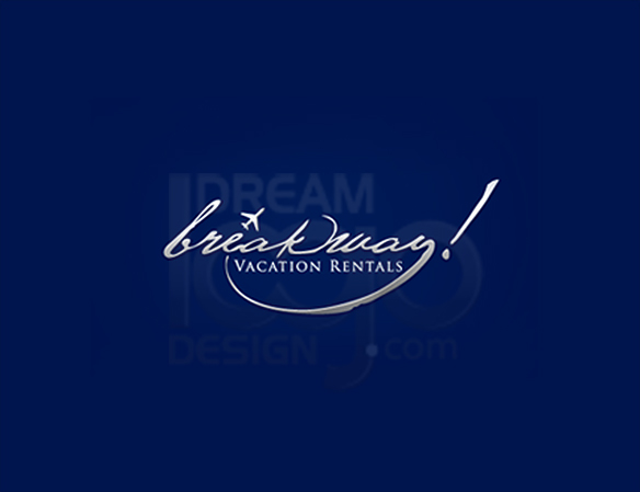 Break Away 3D Logo Design - DreamLogoDesign